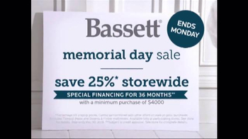 Bassett Memorial Day Sale TV Spot, 'Better' - Thumbnail 6