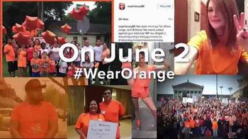 Everytown for Gun Safety TV Spot, '#WearOrange Get Loud!' - Thumbnail 6