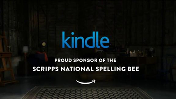 Amazon Kindle TV Spot, 'What Makes a Spelling Bee Champ?' - Thumbnail 10