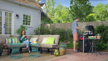 Lowe's TV Spot, 'Make Your Home Happy: Patio Dining Set' - Thumbnail 2