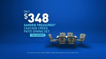 Lowe's TV Spot, 'Make Your Home Happy: Patio Dining Set' - Thumbnail 8