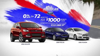 Ford All-American Memorial Day Sales Event TV Spot, 'Those Who Give Back' - Thumbnail 6