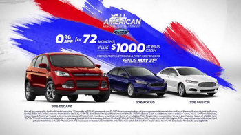 Ford All-American Memorial Day Sales Event TV Spot, 'Those Who Give Back' - Thumbnail 7