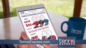 Tennis Express TV Spot, 'Tennis Racket Specials' - Thumbnail 1