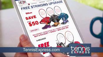 Tennis Express TV Spot, 'Tennis Racket Specials' - Thumbnail 2