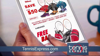 Tennis Express TV Spot, 'Tennis Racket Specials' - Thumbnail 3
