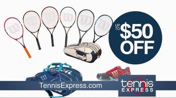 Tennis Express TV Spot, 'Tennis Racket Specials' - Thumbnail 6