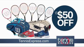 Tennis Express TV Spot, 'Tennis Racket Specials' - Thumbnail 7
