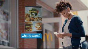 McDonald's McPick 2 TV Spot, 'Mickey D's Classics' - Thumbnail 2