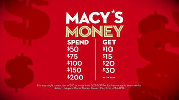 Macy's Money Reward Card TV Spot, 'Cash In' Song by Mungo Jerry - Thumbnail 3