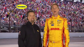 Butterball TV Spot, 'INDYgestion' Feat. Michael Andretti, Ryan Hunter-Reay