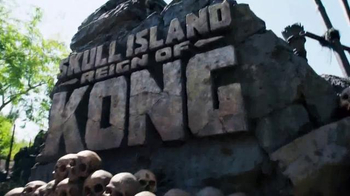 Universal Orlando Resort TV Spot, 'Skull Island: Dangerous' Ft. Erin Ryder - 1 commercial airings