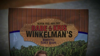 Babe & Kris Winkelman's Family Recipes TV Spot, 'Breading Mixes' - Thumbnail 1