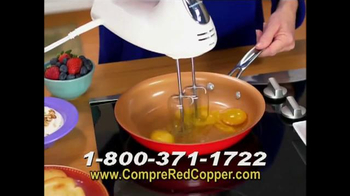 Red Copper Pan TV Spot, 'Liviano y fuerte' con Cathy Mitchell [Spanish] - Thumbnail 5