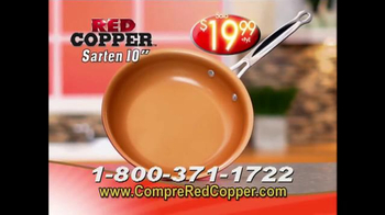 Red Copper Pan TV Spot, 'Liviano y fuerte' con Cathy Mitchell [Spanish] - Thumbnail 6