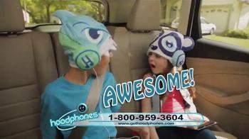 Hoodphones TV Spot, 'Headphones in a Hat' - Thumbnail 8