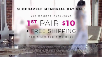 Shoedazzle.com Memorial Day Sale TV Spot, 'Up Close' Song by HOLYCHILD - Thumbnail 5