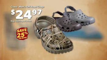 Bass Pro Shops Go Outdoors Event and Sale TV Spot, 'Flashlights and Crocs' - Thumbnail 6