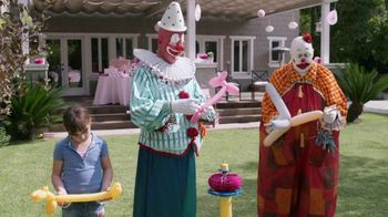 GEICO TV Spot, 'Clownin' Around: More More More'