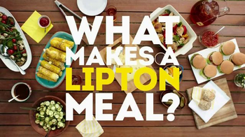 Lipton Iced Tea TV Spot, 'What Makes a Lipton Meal?' - Thumbnail 1