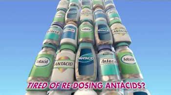 Zantac Duo Fusion TV Spot, 'Re-Dosing Antacids'