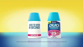 Zantac Duo Fusion TV Spot, 'Re-Dosing Antacids' - Thumbnail 6