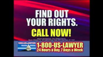 1-800-US-LAWYER TV Spot, 'Car Accident' - Thumbnail 5