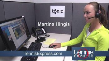 Tennis Express TV Spot, 'Cool and Comfortable' Featuring Martina Hingis - 2 commercial airings
