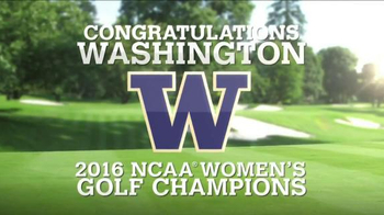 Golf Channel Shop TV Spot, '2016 NCAA Women's Golf Champions' - Thumbnail 3