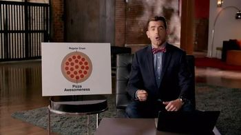 Pizza Hut Bacon-Stuffed Crust Pizza TV Spot, 'FX Eats: Pizza Awesomeness' - 4 commercial airings