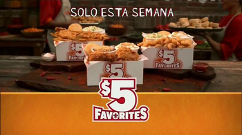 Popeyes $5 Favorites TV Spot, 'Bravo' con Alejandro Patino [Spanish] - Thumbnail 8