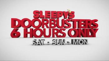 Sleepy's Doorbuster Weekend TV Spot, 'Don't Forget' - Thumbnail 1