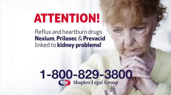 Shapiro Legal Group TV Spot, 'Reflux and Heartburn Drugs' - Thumbnail 2