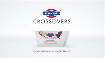 Fage Yogurt Crossovers Coconut With Dark Chocolate TV Spot, 'Intense' - Thumbnail 9