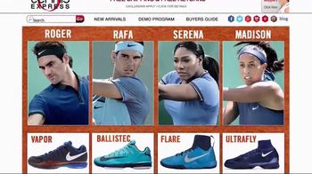 Tennis Express TV Spot, 'The Next Level' - 94 commercial airings