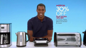Macy's Memorial Day Home Sale TV Spot, 'Luggage, Bedding and Kitchenware'