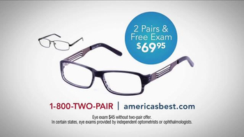 America's Best Contacts and Eyeglasses TV Spot, 'What? When? Why?' - Thumbnail 10