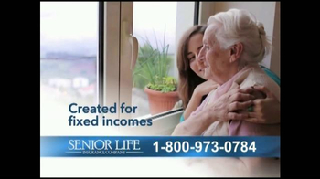 Senior Life Insurance Company Affordable Life Plan TV Spot, 'Low Premiums'