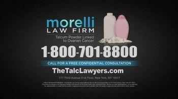 Morelli Law Firm TV Spot, 'Talcum Powder Lawsuit' - Thumbnail 8