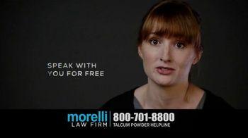 Morelli Law Firm TV Spot, 'Talcum Powder Lawsuit' - Thumbnail 6
