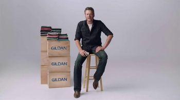 Gildan TV Spot, 'One Big Star' Featuring Blake Shelton
