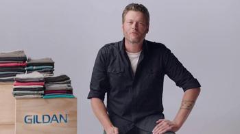 Gildan TV Spot, 'One Big Star' Featuring Blake Shelton - Thumbnail 4