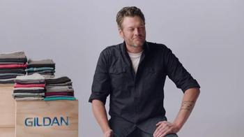 Gildan TV Spot, 'One Big Star' Featuring Blake Shelton - Thumbnail 7