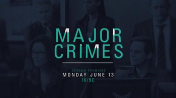 Major Crimes: The Complete Fourth Season Home Entertainment TV Spot - Thumbnail 10