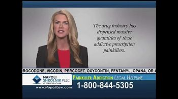 Napoli Shkolnik PLLC TV Spot, 'Painkiller Addiction'
