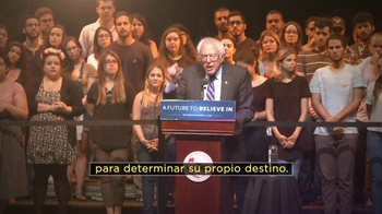 Bernie 2016 TV Spot, 'Nuestro Destino' [Spanish] - Thumbnail 7