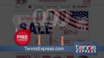 Tennis Express Memorial Day Sale TV Spot, 'Shoes, Apparel and Rackets' - Thumbnail 5
