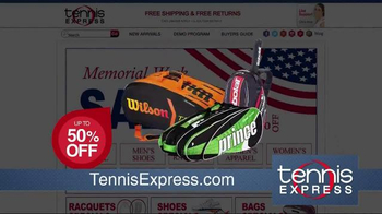 Tennis Express Memorial Day Sale TV Spot, 'Shoes, Apparel and Rackets' - Thumbnail 7