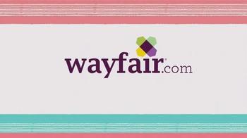 Wayfair Memorial Day Super Sale TV Spot, 'Outdoor, Living & Bedroom' - Thumbnail 8