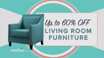 Wayfair Memorial Day Super Sale TV Spot, 'Outdoor, Living & Bedroom' - Thumbnail 5